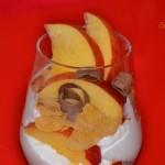Mousse de iaurt cu fructe
