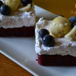 Prajituri cu crema rapida si fructe