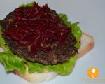 Hamburger din ciuperci