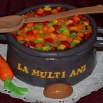Tort oala cu supa de legume – 1.7 kg